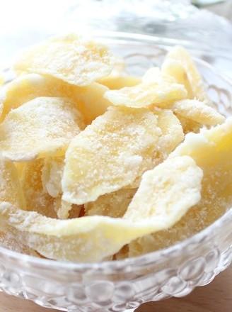 自制黄姜糖片的做法