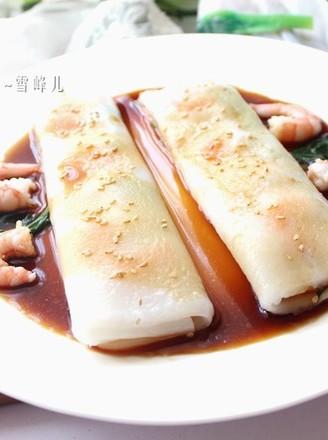 美味鲜虾肠粉的做法