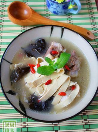 厚百叶大骨汤的做法