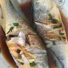 清蒸黄瓜鱼(简单版,自创)