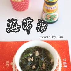 韩式海带汤#金鸡报喜合家乐#