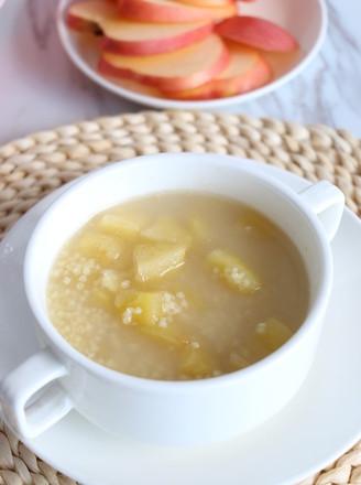 苹果红糖小米粥的做法