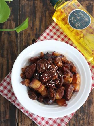 香菇炖肉的做法
