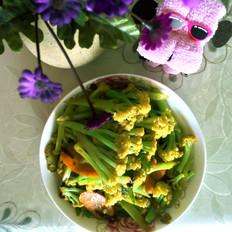炒有机菜花