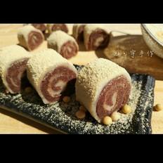 老北京小吃:驴打滚