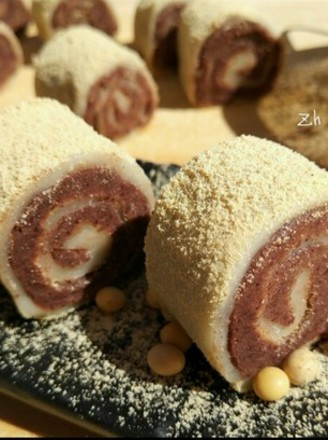 老北京小吃:驴打滚的做法