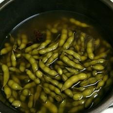 高压锅煮毛豆