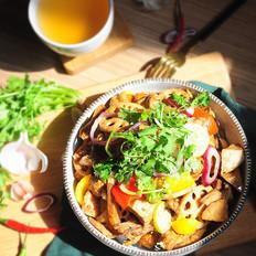 干锅三黄鸡的做法[图]