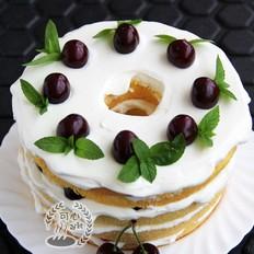 拜拜樱桃裸蛋糕