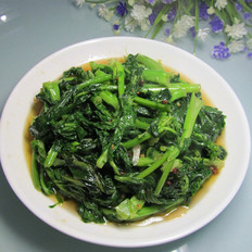 炝炒青油菜