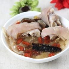 灵芝麦冬猪蹄汤