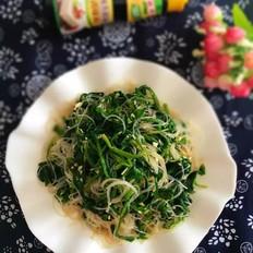 菠菜拌粉丝#金鸡报喜合家乐#