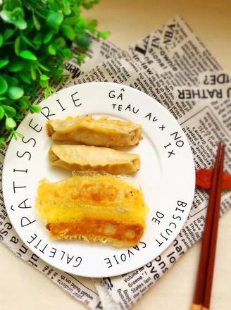 西葫芦猪肉锅贴的做法