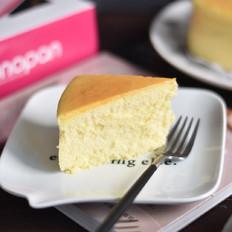 舒芙蕾轻乳酪蛋糕