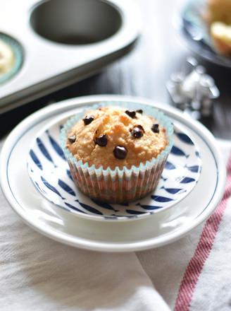 椰蓉巧克力豆马芬#长帝烘焙节#的做法