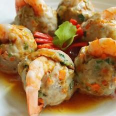 花红柳绿肉丸虾