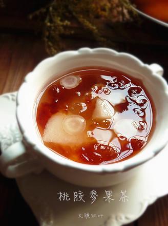 桃胶参果茶