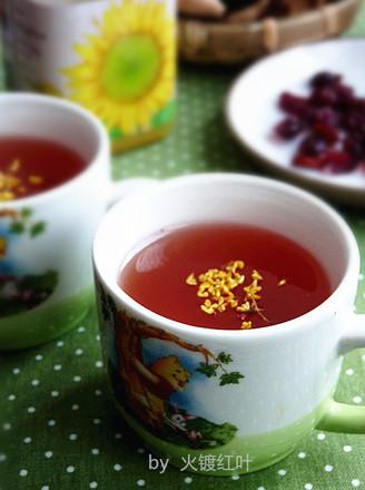 蔓越莓陈皮桂花茶的做法