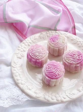蔓越莓乳酪冰皮月饼的做法