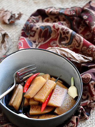 葡萄黑醋渍萝卜的做法