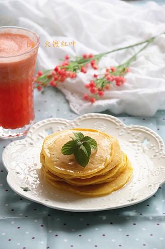 蜂蜜玉米鸡蛋饼#早餐#的做法