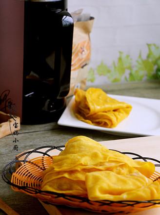 南瓜豆浆水烙馍的做法