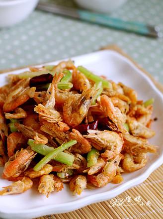 香辣小河虾的做法
