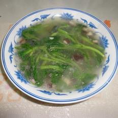 香菇油菜汤