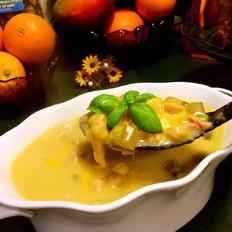 意式芝士豆汤
