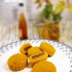 地瓜鱼松月饼