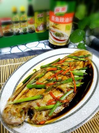 清蒸鱼#金鸡报喜合家乐#的做法