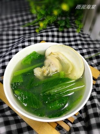 小白菜文蛤汤的做法