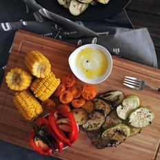 香烤蔬菜拼盘