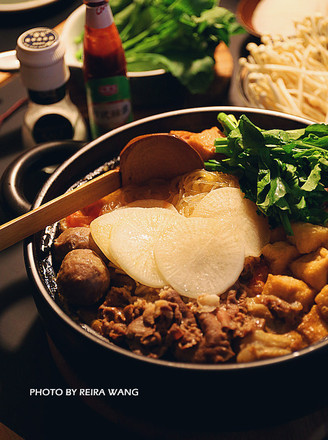 番茄猪骨火锅的做法