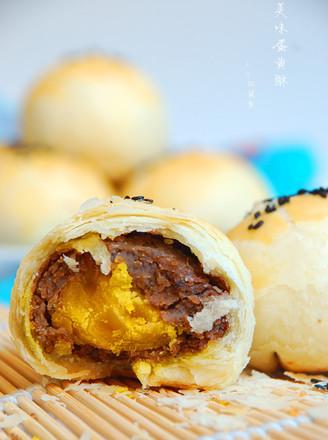 美味蛋黄酥植物油版#长帝烘焙节#的做法
