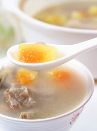 排骨鸡爪木瓜汤的做法