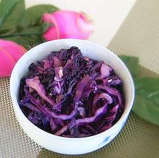 蒜香紫甘蓝