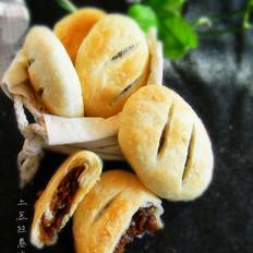 玫瑰糯米馅酥饼的做法[图]