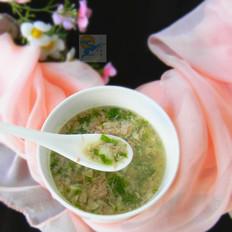 火腿珍珠汤