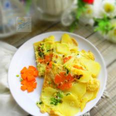 #苏泊尔季度奖#土豆蛋饼