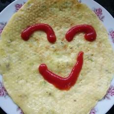 #幼儿5岁菜谱#石斛花煎饼