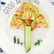 童趣早餐之西葫芦蛋饼