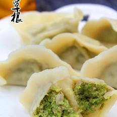 四季豆猪肉馅水饺