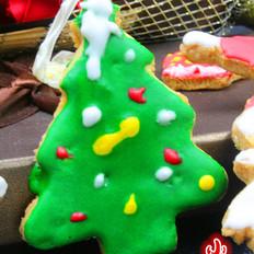 圣诞孩子最爱的糖霜饼干