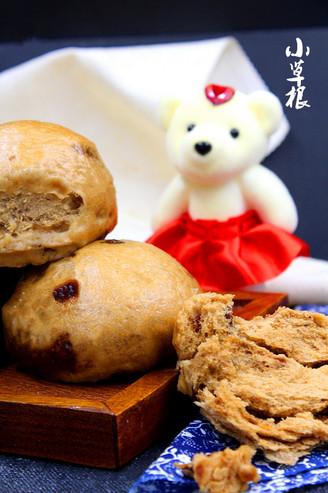 红红火火的补血益气的红枣馒头的做法