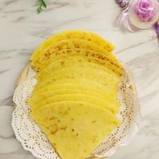牛奶玉米汁鸡蛋饼