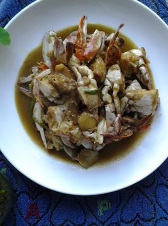 咖喱梭子蟹的做法