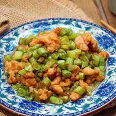肉末炒菜豆