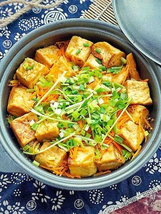 腐竹豆腐煲的做法