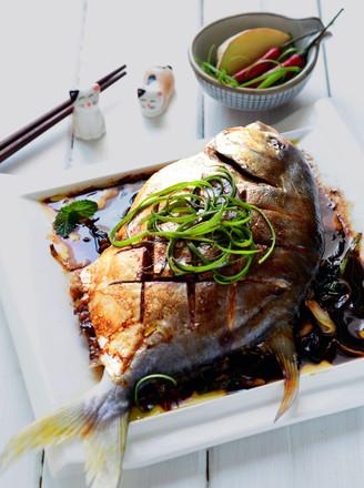 红烧做法的做法【美食图】_大全_菜谱杰青笋切丝的步骤鲳鱼图片